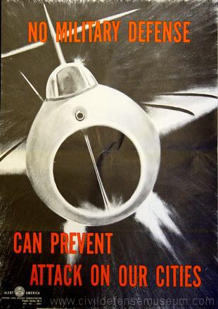 Civil Defense Museum Art Gallery Early FCDA Posters