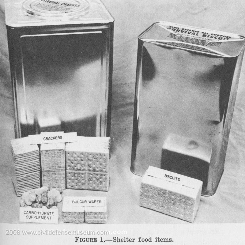 Civil Defense Museum Community Fallout Shelter Supplies