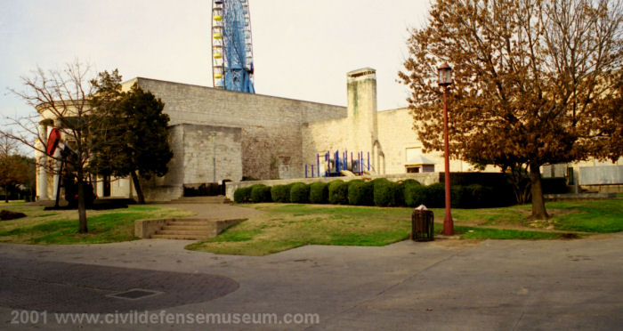 Front Of Old Science Museum, Fair Park, Dallas, Texas