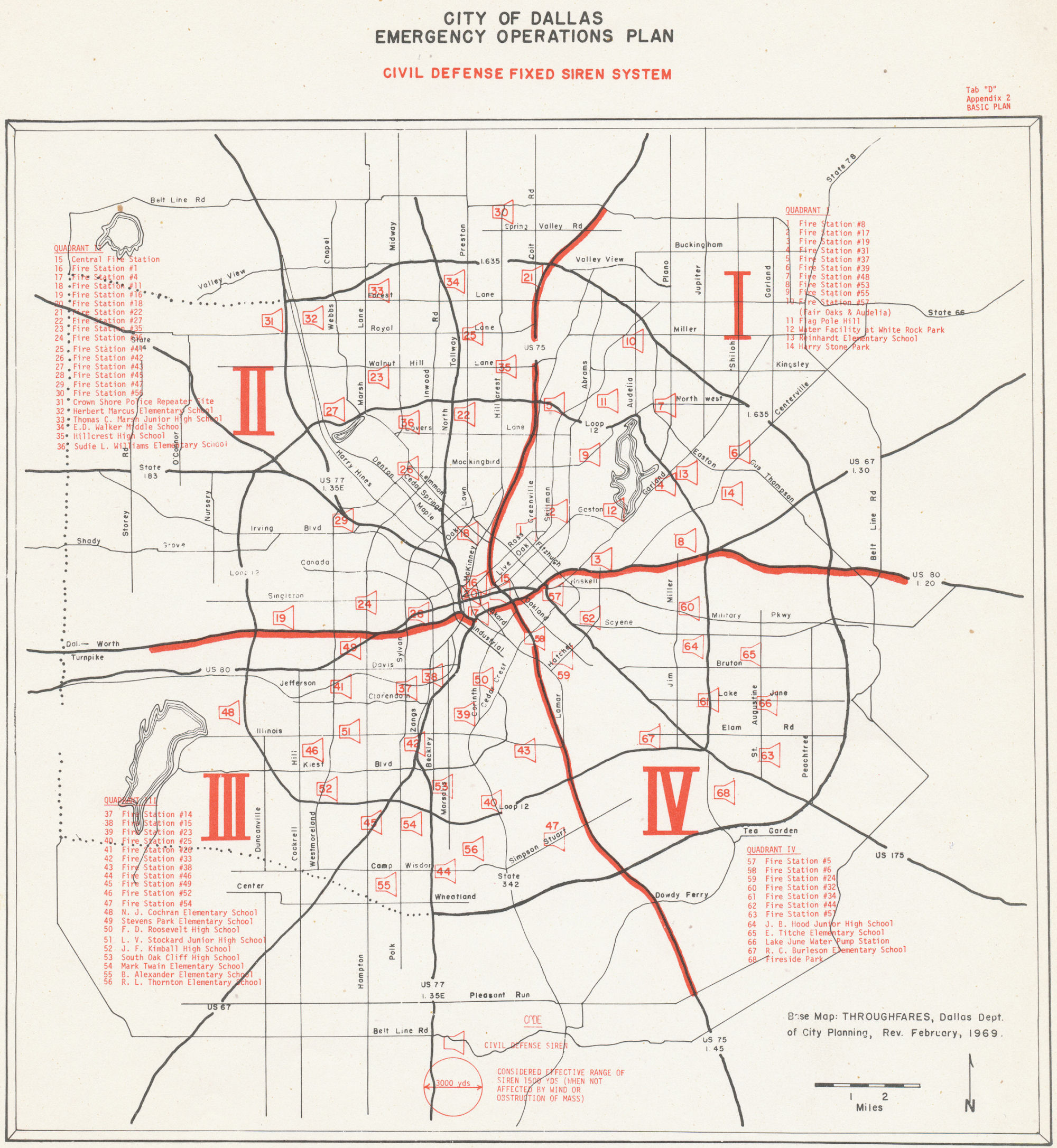 Old Dallas Map.Civil Defense Museum Warning Sirens City Of Dallas Texas Siren