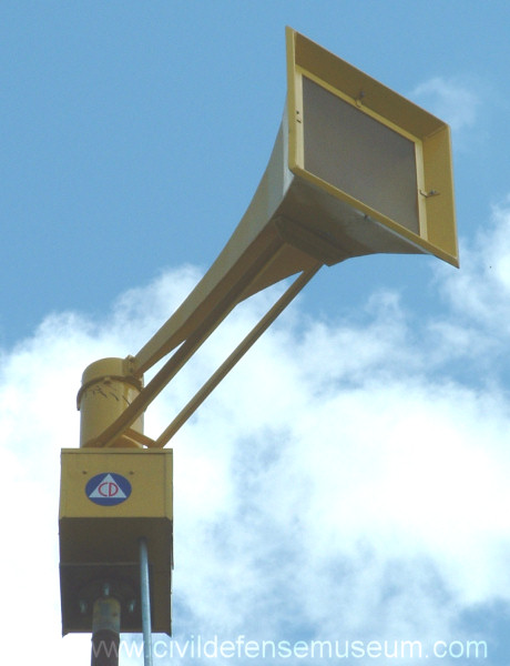 Civil Defense Museum - The First Siren Project - Federal